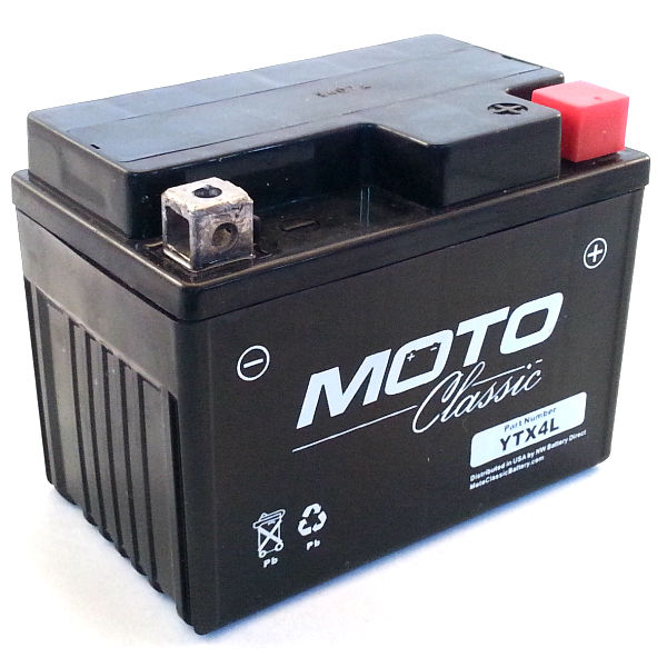 battery lookup gs gtx4l bs motorcycle battery. Black Bedroom Furniture Sets. Home Design Ideas